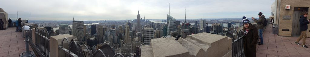 View from Top of the Rock Observatory