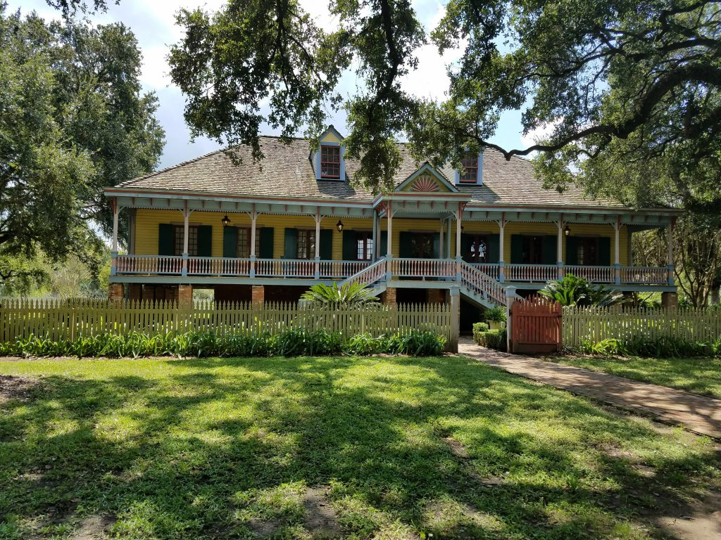 A plantation in New Orleans