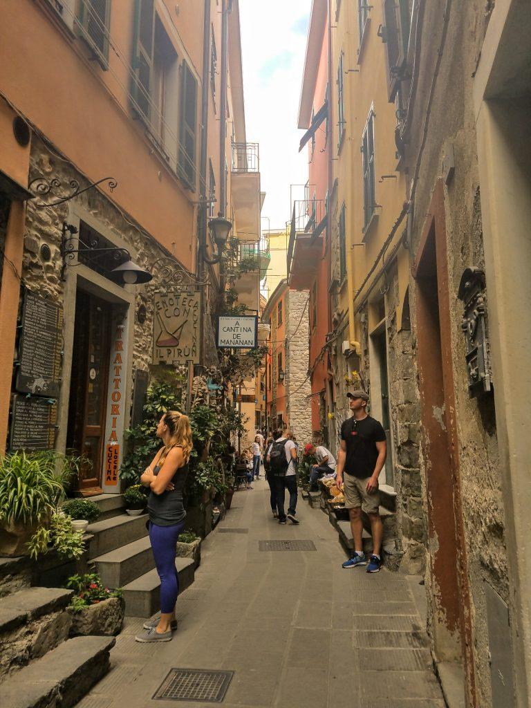 Cinque Terre backstreet