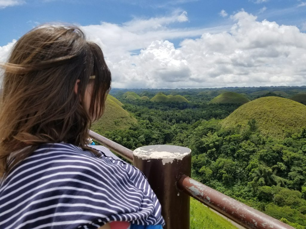 Visiting the chocolate hills is one of the most popular things to do in Bohol