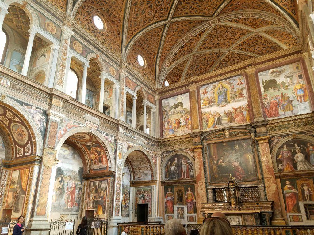 Santa Maria delle Grazie interior