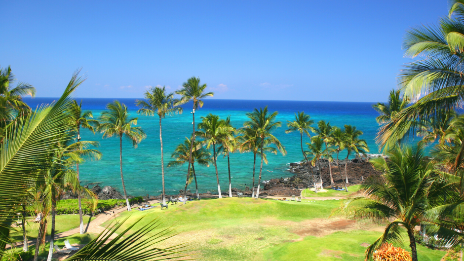 Kona Hawaii beach