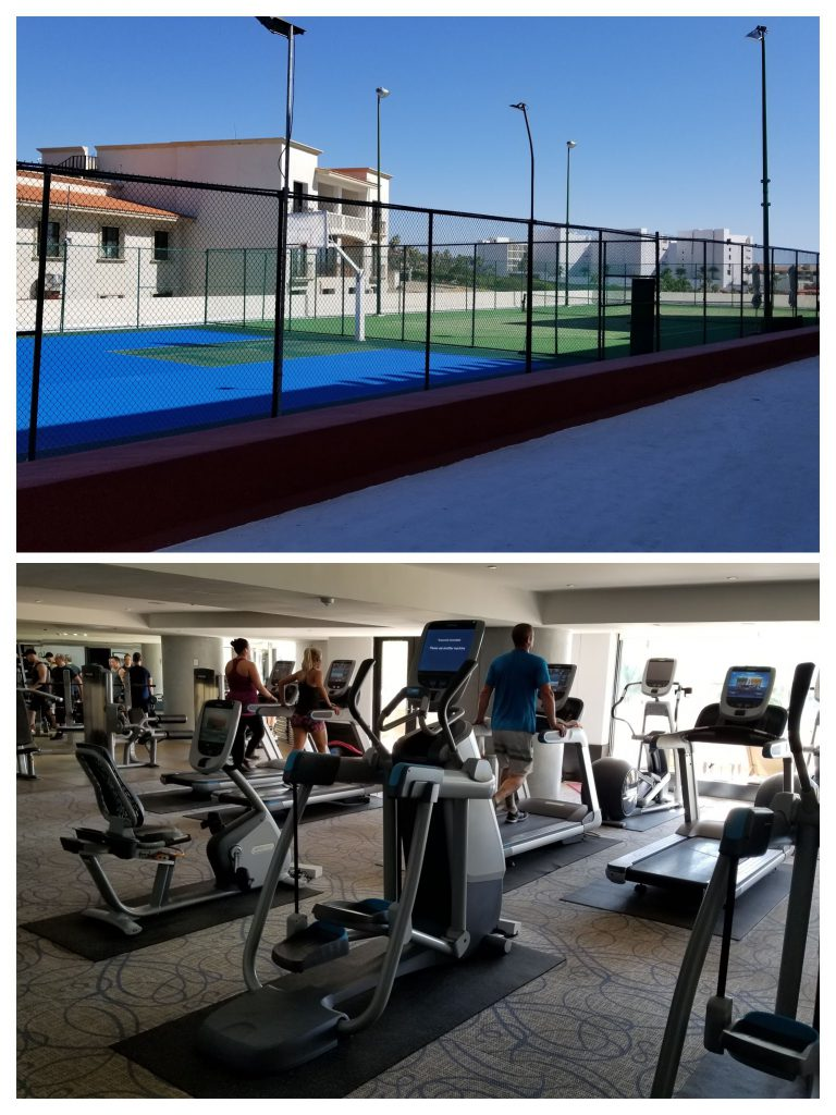 Exercise areas at Hyatt Ziva Los Cabos