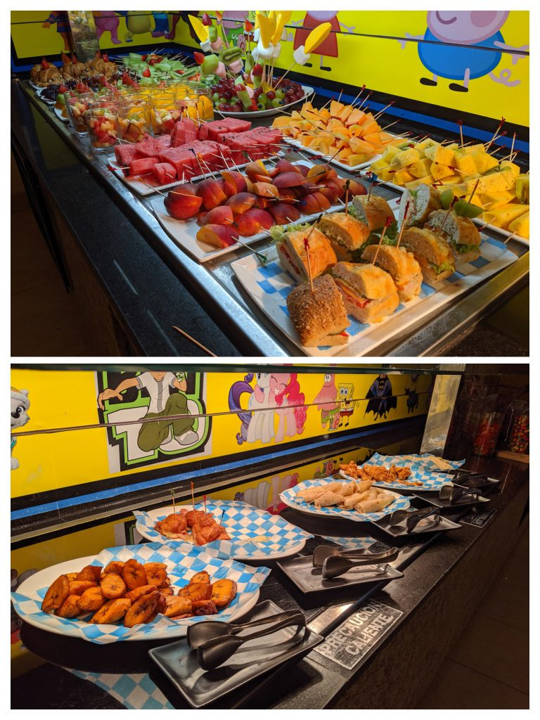 Kids food at Hyatt Ziva Los Cabos- best Cabo resorts for families
