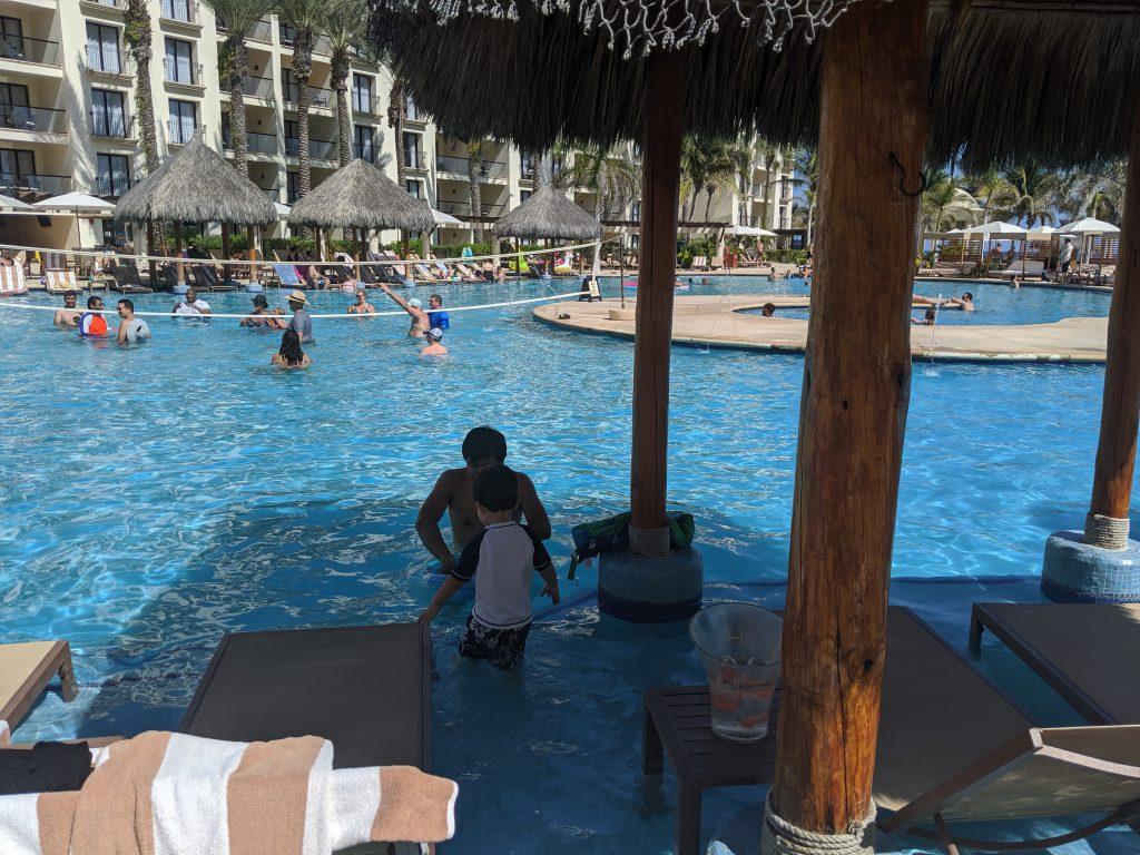 The pool at Hyatt Ziva Los Cabos