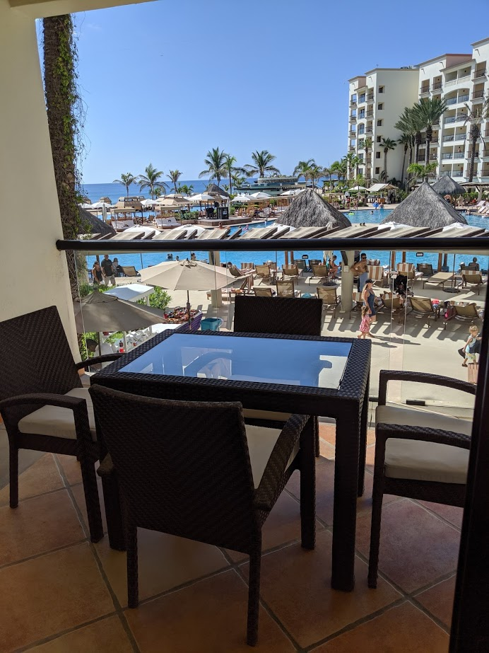 The view from a room at Hyatt Ziva Los Cabos