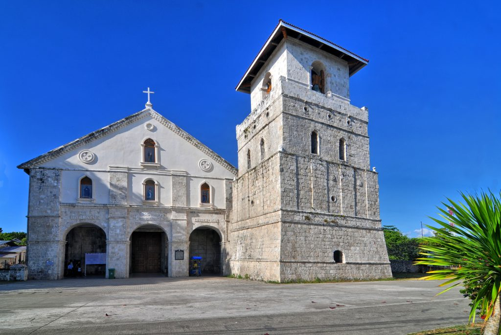Baclayon Church in Bohol, Philippines