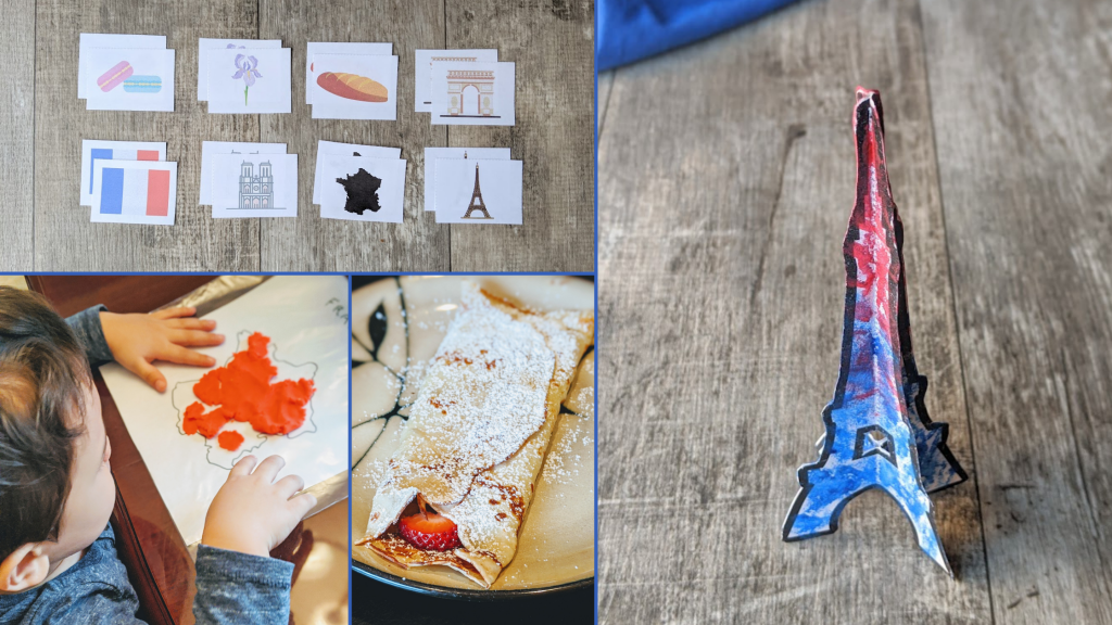 France cultural activities for kids