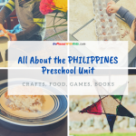 Philippines Preschool Unit- Crafts, Activities, and Free Printables!