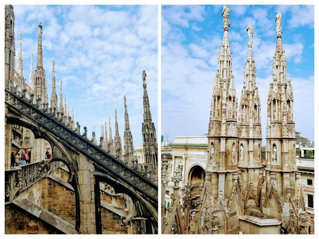 Duomo di Milano rooftop terraces