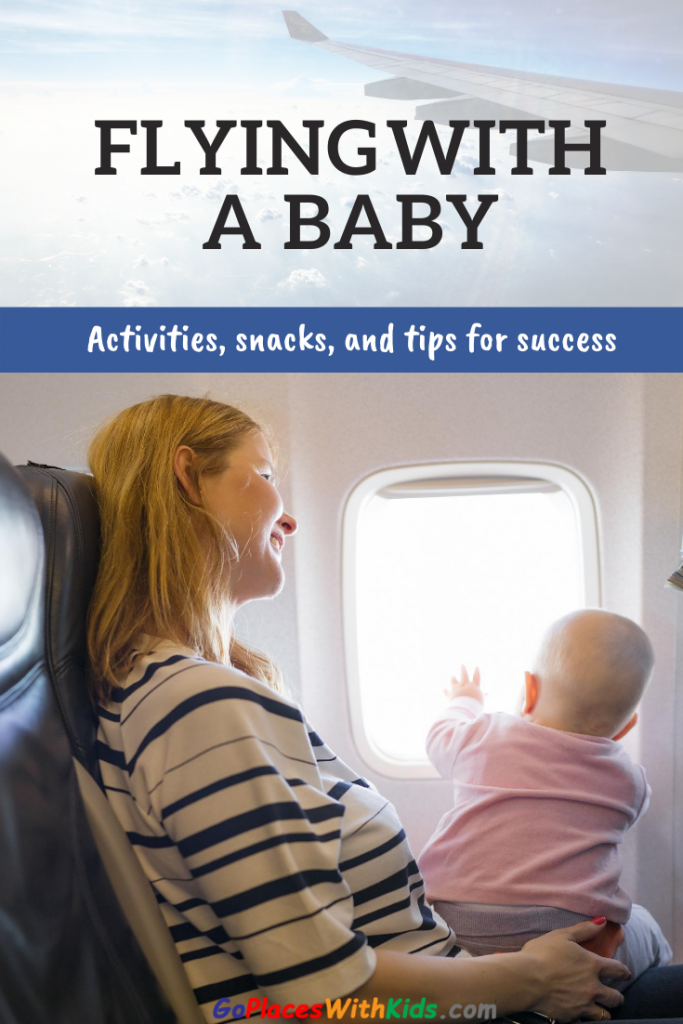 First flight with baby pinterest pin