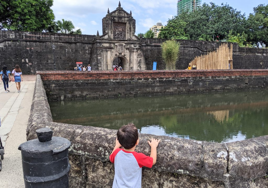 Fort Santiago is a kid-friendly place to explore in Manila