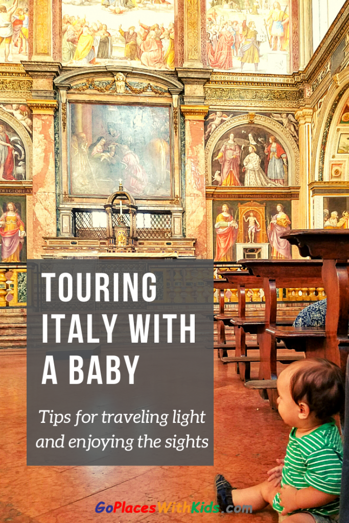 Italy with a baby