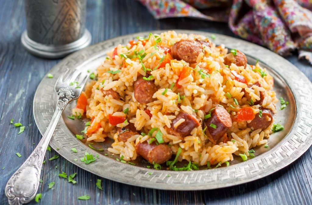 Jambalaya, a classic food in New Orleans