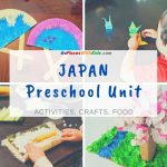 Japan Preschool Unit- Crafts, Activities, and More!