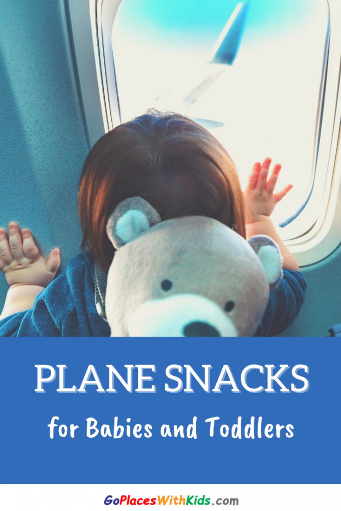 Pinterest pin- airplane snacks for toddlers
