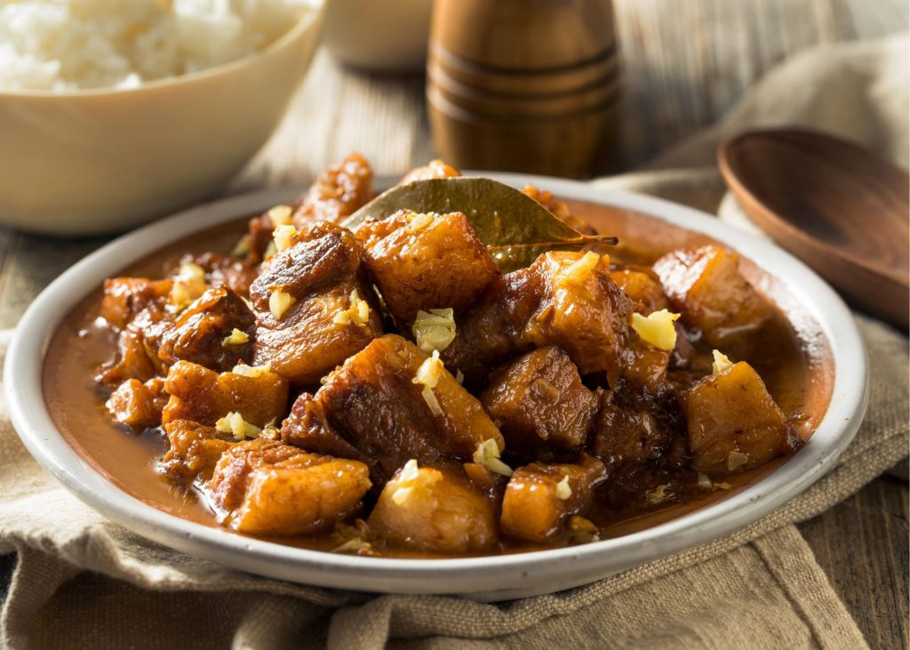 Adobo, a famous and well-loved Filipino  food