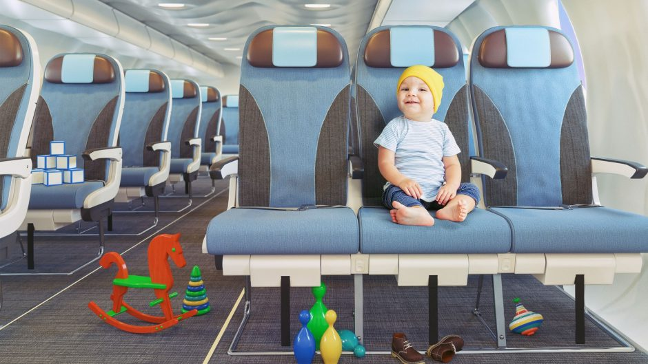 Toddler airplane activities