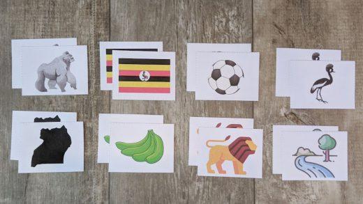 Uganda matching game