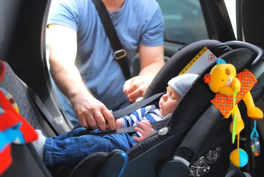 Car seats are not commonly used in the Philippines