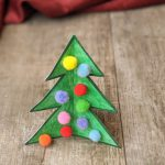 Easy Christmas Tree 3D Craft for Kids
