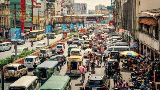 Transportation in Manila traffic