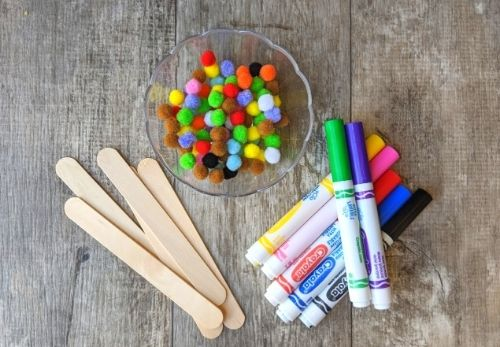Materials to make pattern sticks