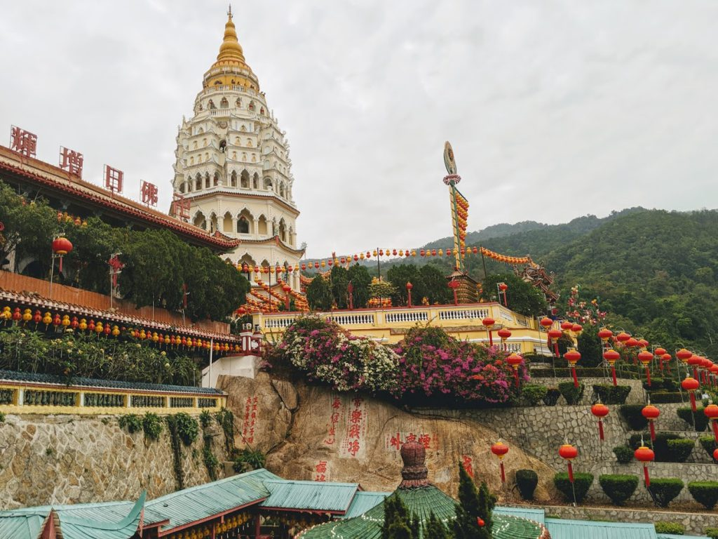 Kek Lok Si Temple is a great place to visit in Penang