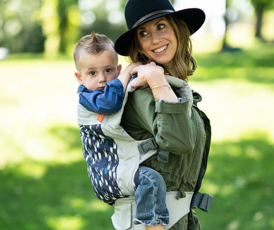 Beco Toddler Carrier is a great option for travel