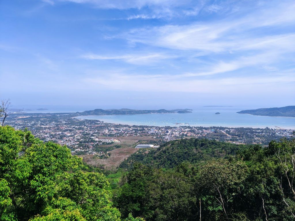 The view from the Big Buddha in Phuket