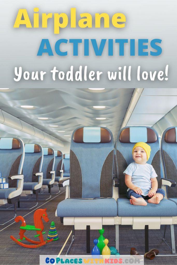 Toddler airplane activities pinterest pin