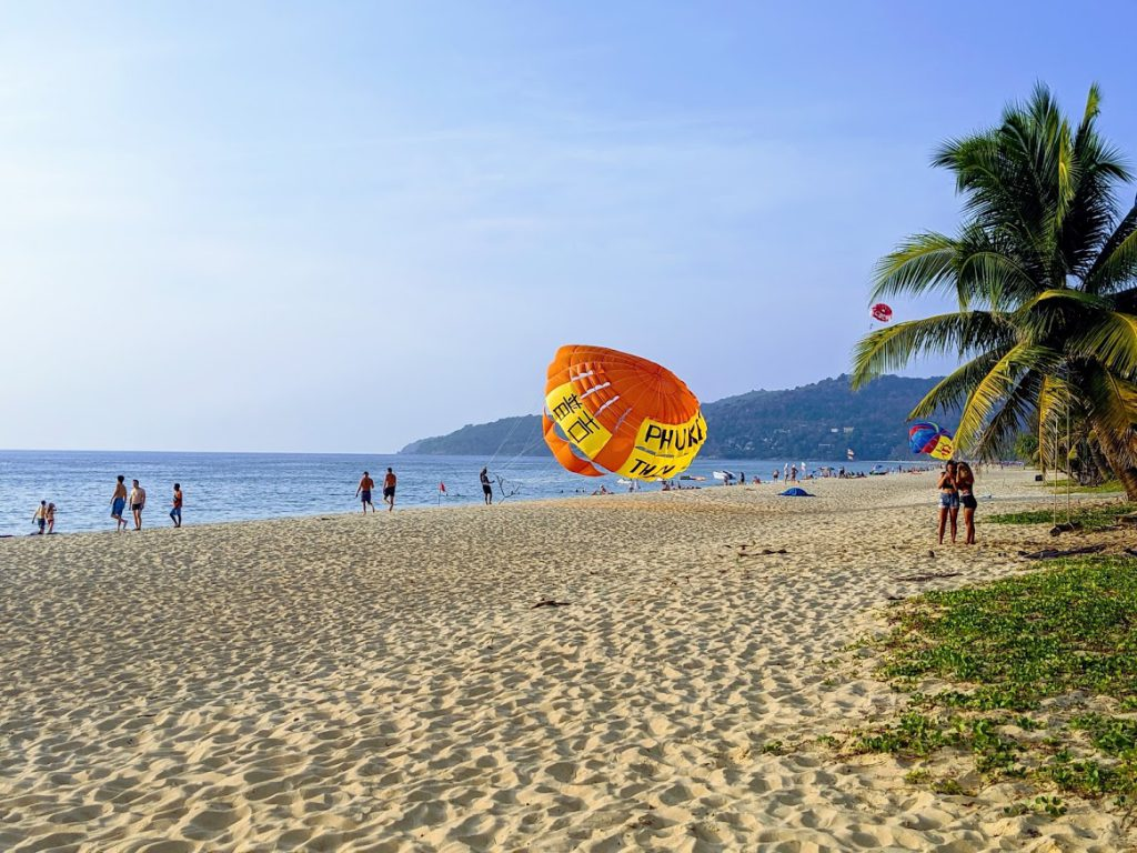 Karon Beach in Phuket is a fun place to visit with kids
