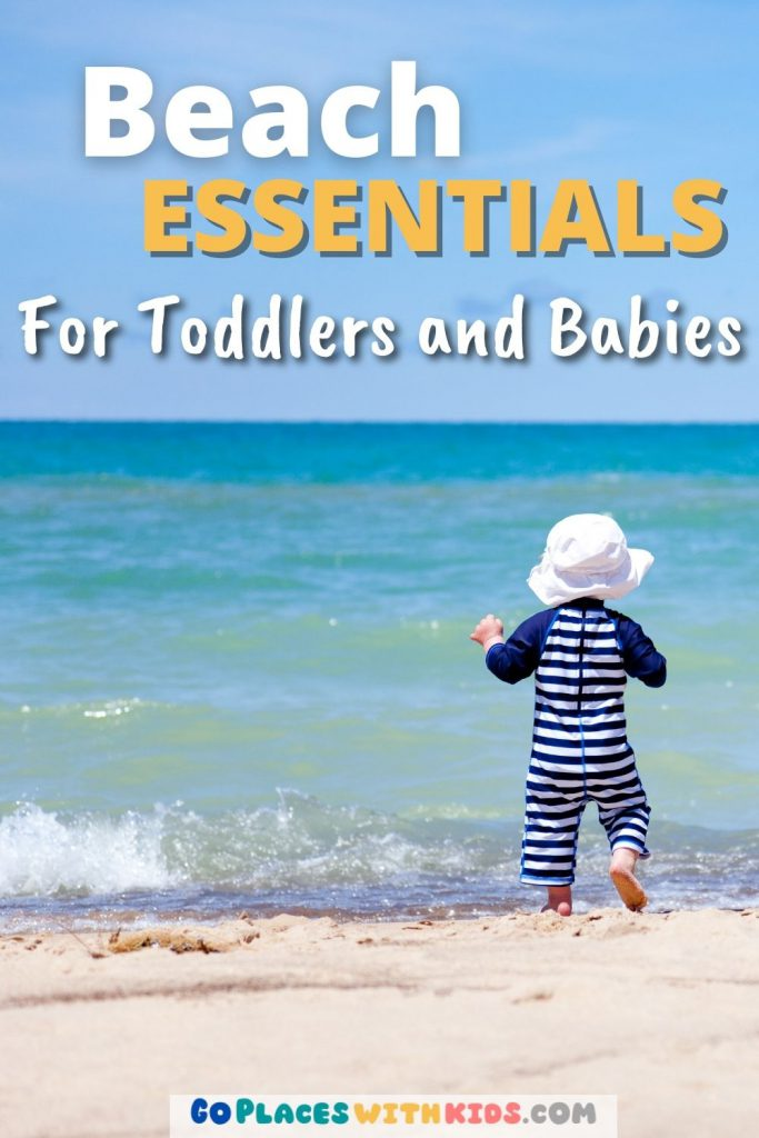 Beach essentials for toddlers and babies pinterest pin