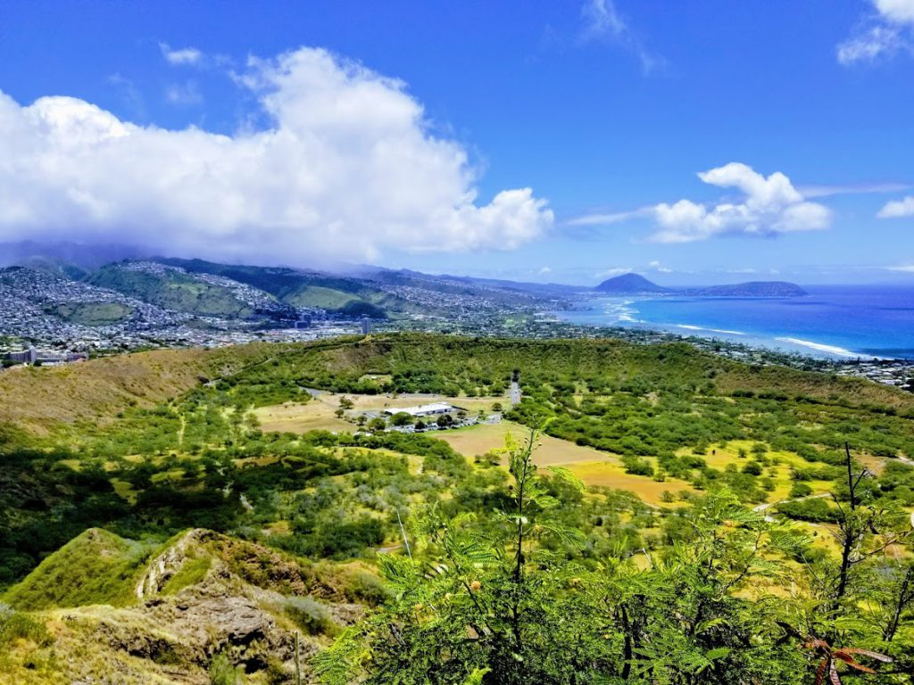 Diamond Head Crater- easy hikes on Oahu
