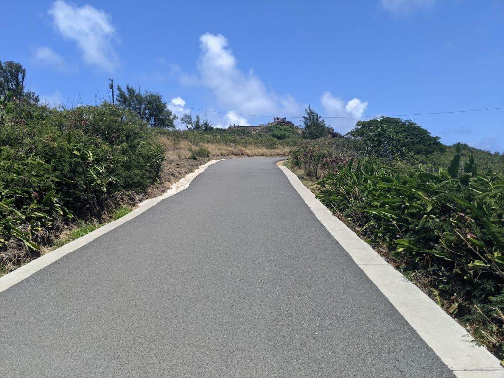 Path to Makapu'u Lighthouse- Easy hikes on Oahu