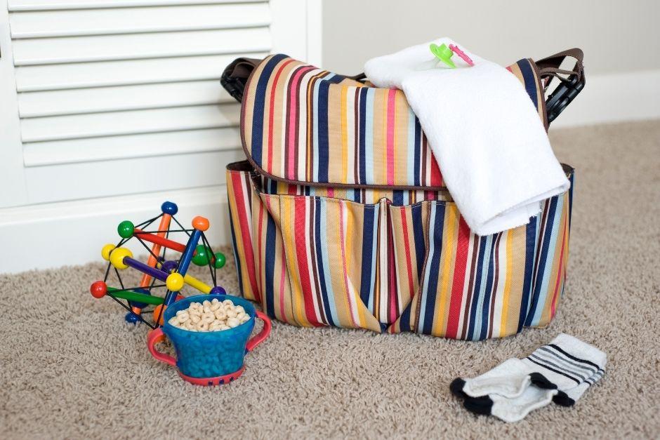 Diaper bag- baby travel essentials