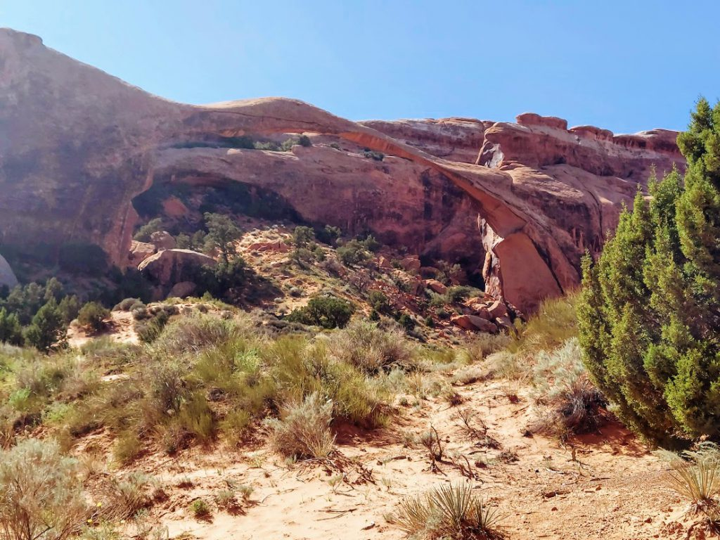 Landscape Arch- one day in Arches National Park