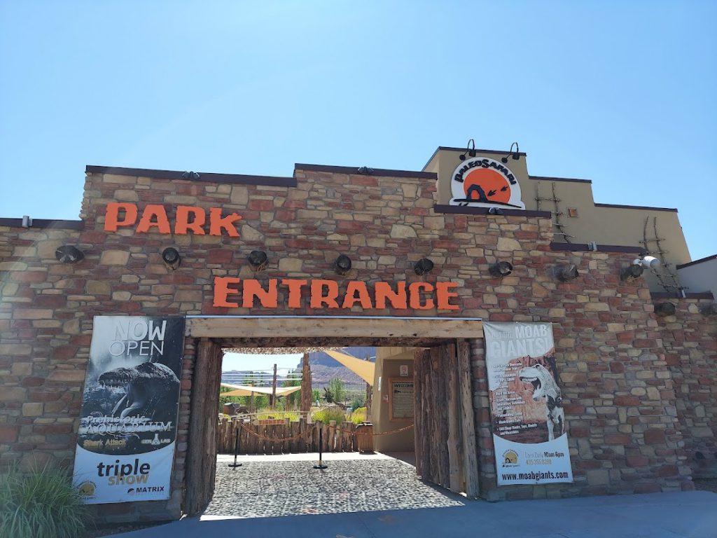 Entrance to Moab Giants