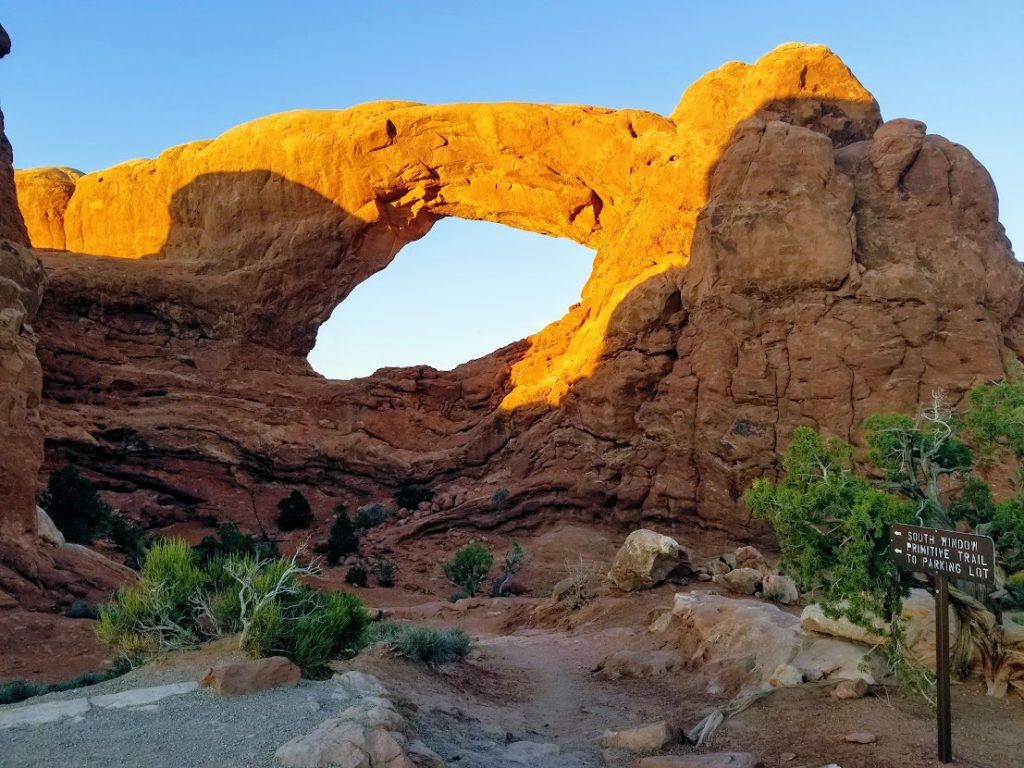 South Window Arch